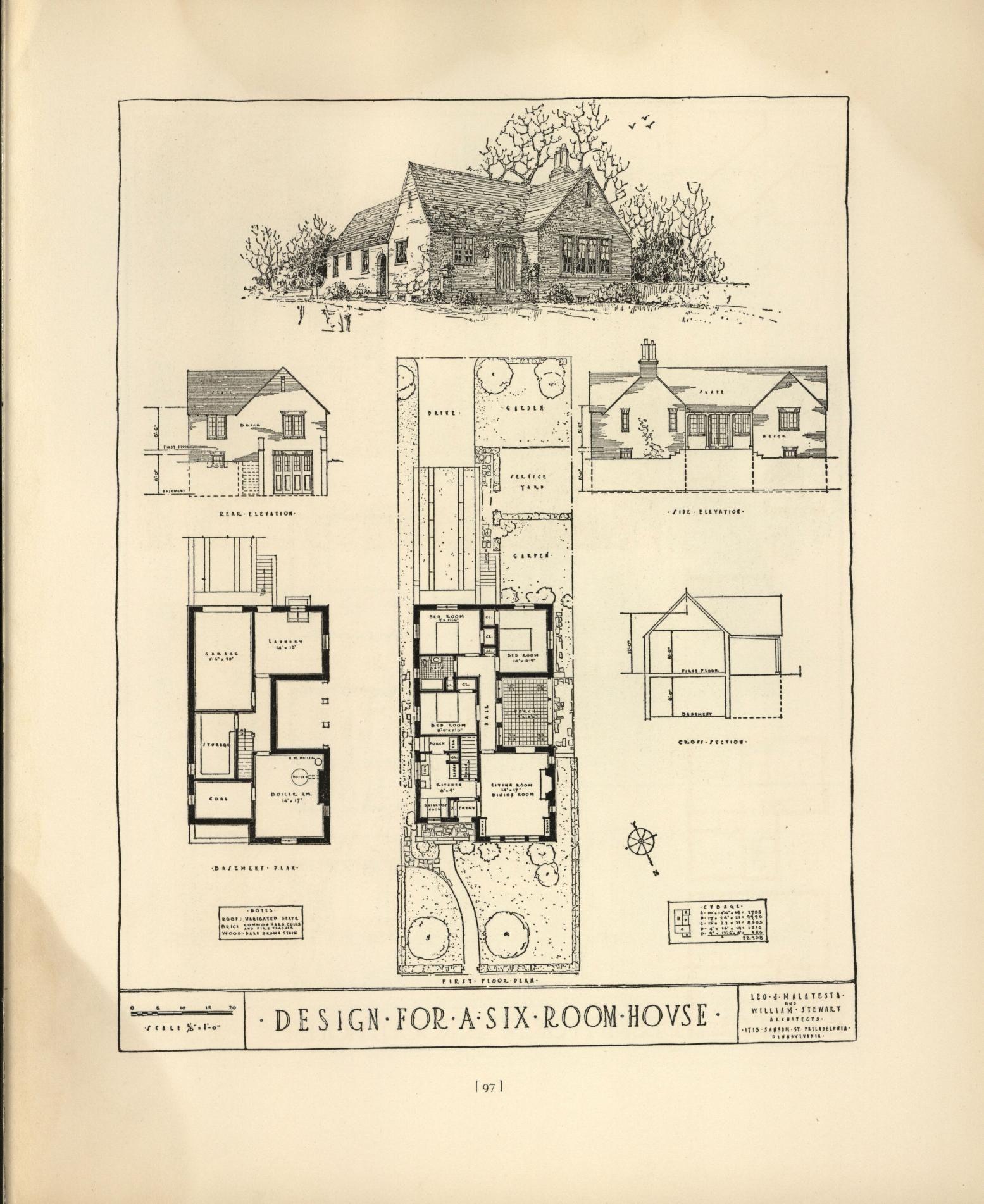 Chicago Tribune Book Of Homes Architectural Prints Vintage House Plans Chicago Tribune
