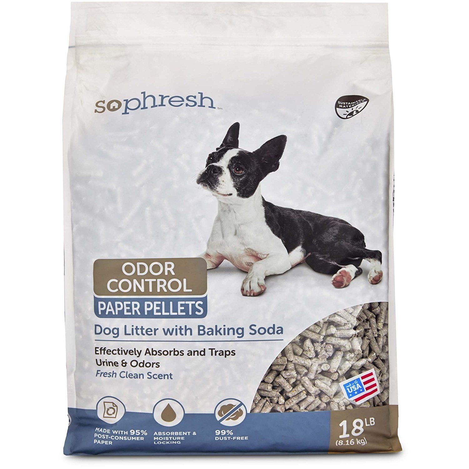 So Phresh Dog Litter with Odor Control Paper See this