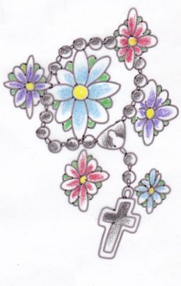 Rosary Cross Bead Tattoo #rosarybeadtattoo Rosary Cross Bead Tattoo #rosarybeadtattoo