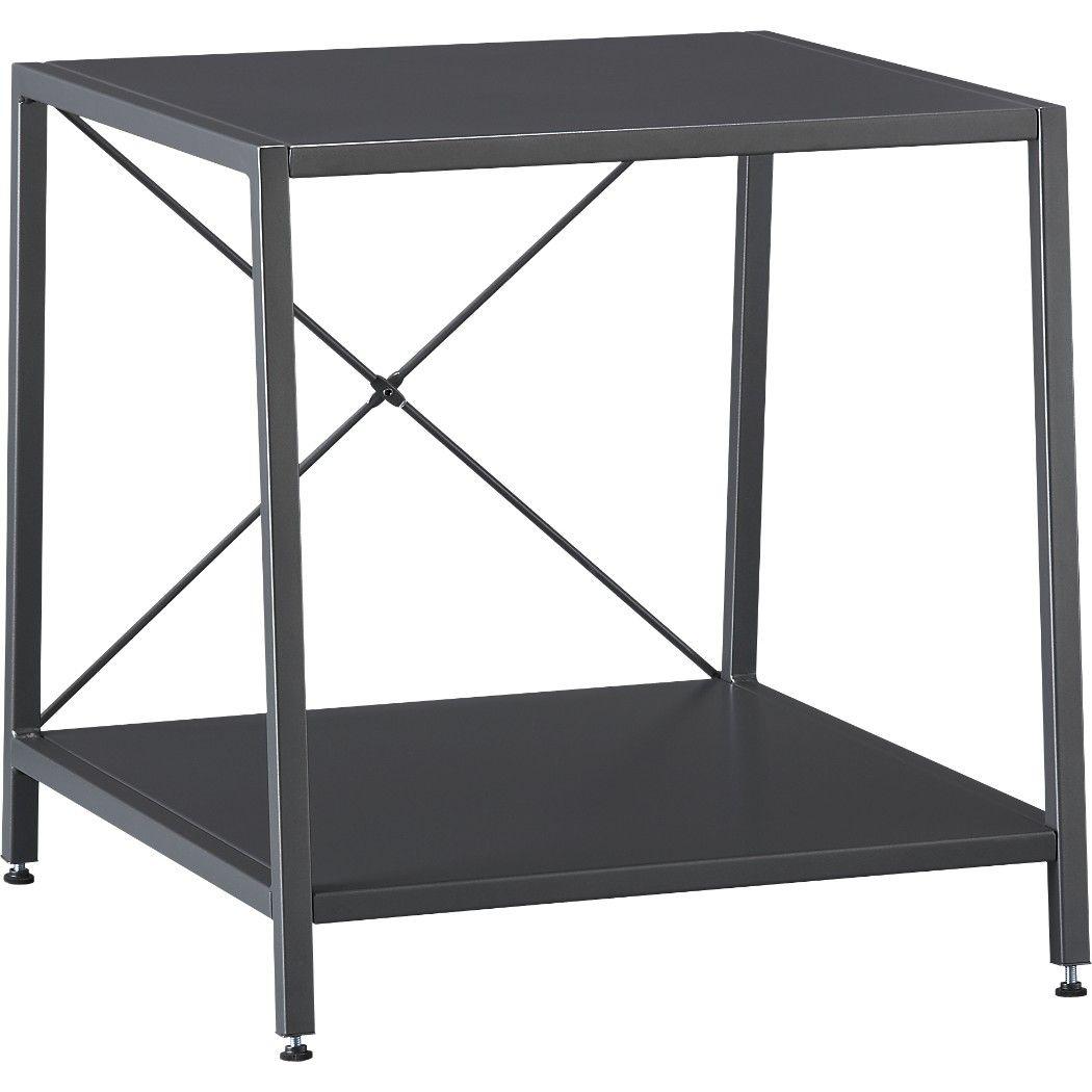 Best Cb2 Harvey Carbon Nightstand Gray Nightstand Furniture 400 x 300