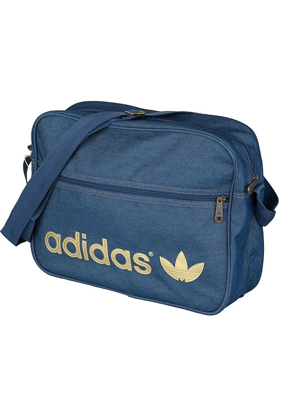 ADIDAS Airline Bag Denim  8b7afb08440aa