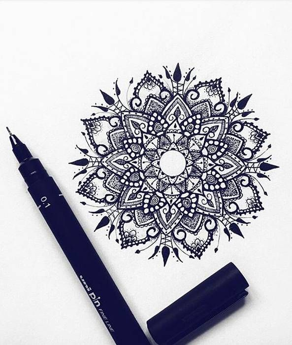 Beau Dessins De Tatouage Femme Mandala Tattoos Pinterest