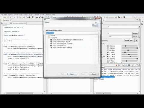 10 CityEngine Tutorial: Python Scripting --- This video explains the
