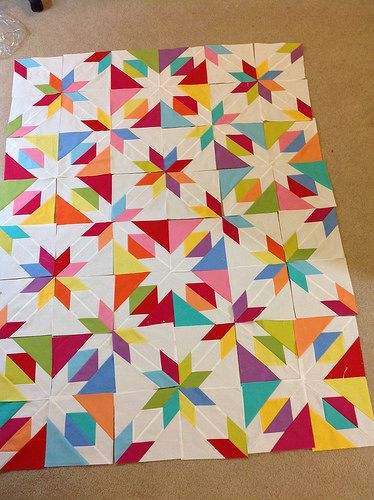 Confetti Star Pattern Quilts Star Quilt Patterns Colorful Quilts