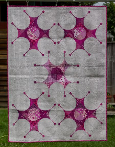 A Tricked Out Gammill And Quilt Finishes Hand Stitching Stitch
