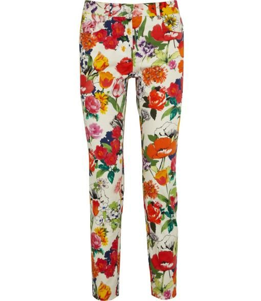 Mid-Rise Skinnies by Moschino // Super Springy :)