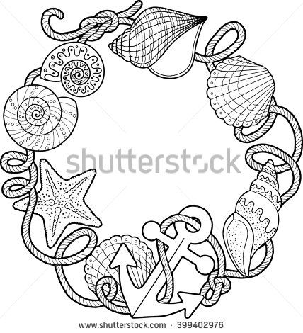 Shells Coloring Pages Coloring Pages Coloring Books Coloring Book Pages