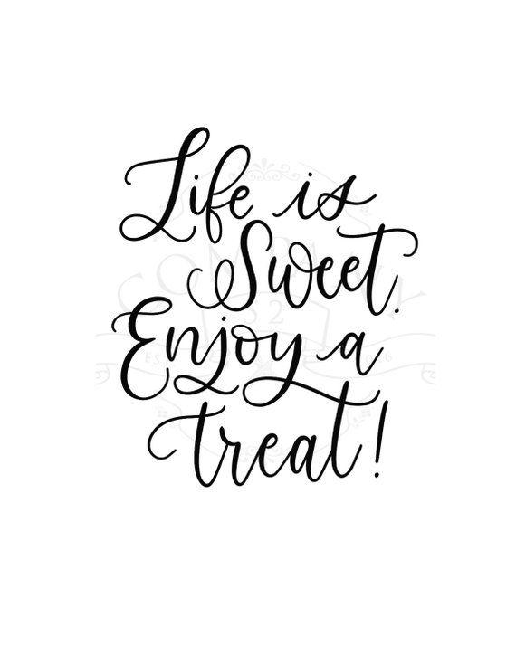 dessert table sign, dessert bar sign, life is sweet sign, wedding reception sign, sign for dessert b