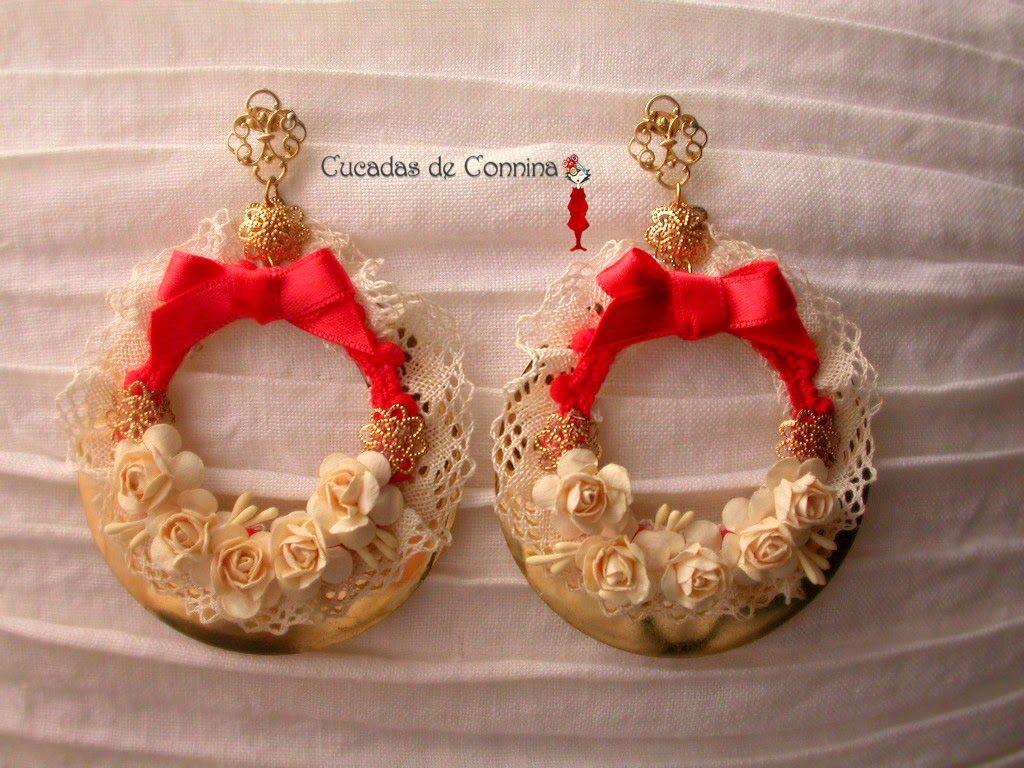 7ec16306f6a2 materiales para hacer pendientes de flamenca - Buscar con Google ...