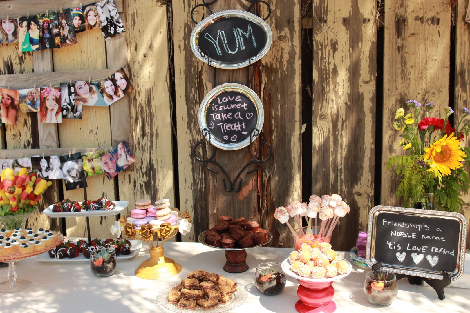 perfect for a rustic and vintage sweet 16 :) | sweet 16? | pinterest