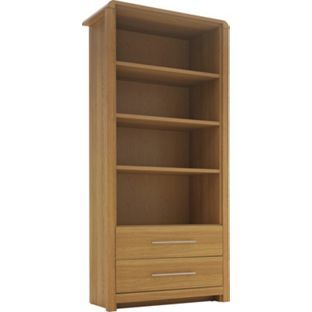 Heart Of House Elford Bookcase Oak Effect At Argos Co Uk