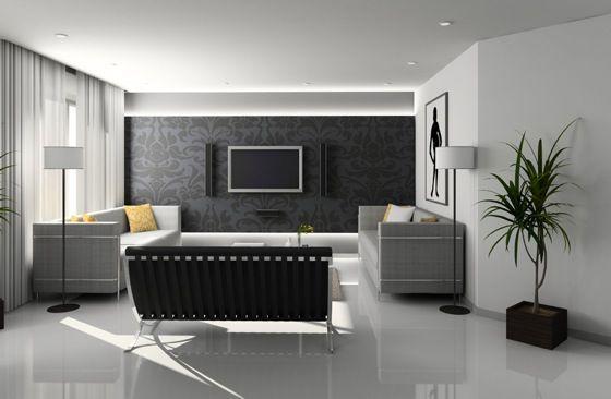 idée peinture salon moderne Idee Deco Maison peinture - decoration maison salon moderne
