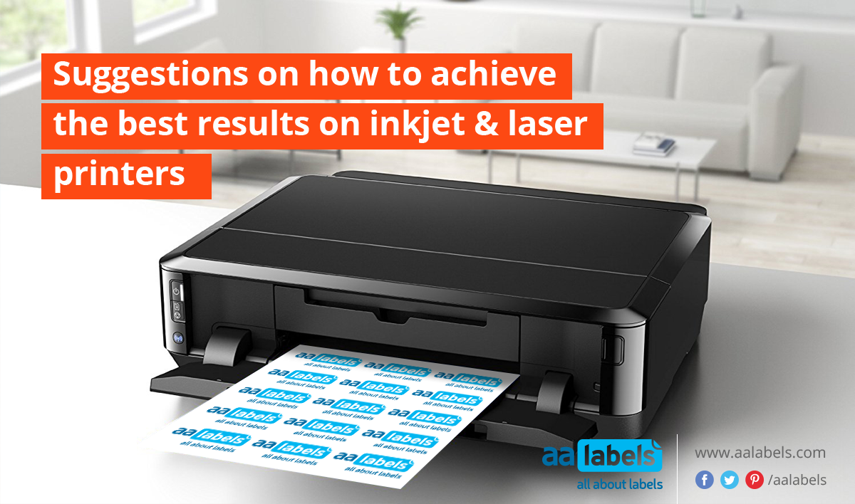Suggestions On How To Achieve The Best Results On Inkjet Laser Printers Laser Printer Laser Printer Toner Digital Labels
