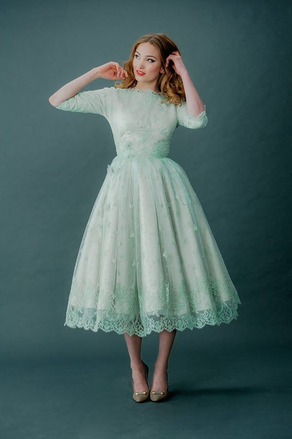 Vintage Tea Length Dresses