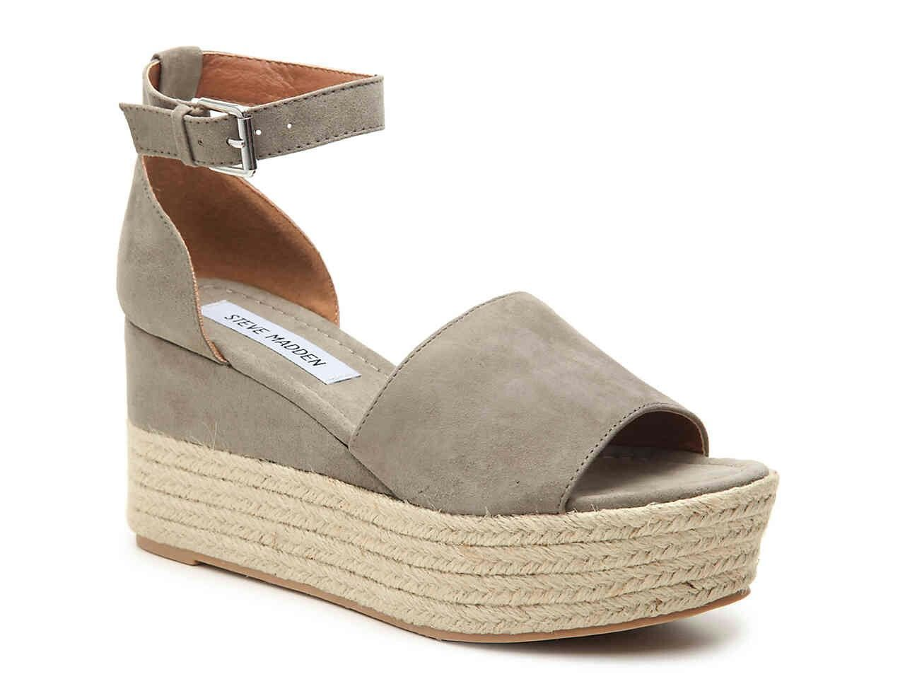 c2e23ede197 STEVE MADDEN APOLO WEDGE SANDAL-TAUPE-$59.99 | ESPADRILLES TO DIE ...