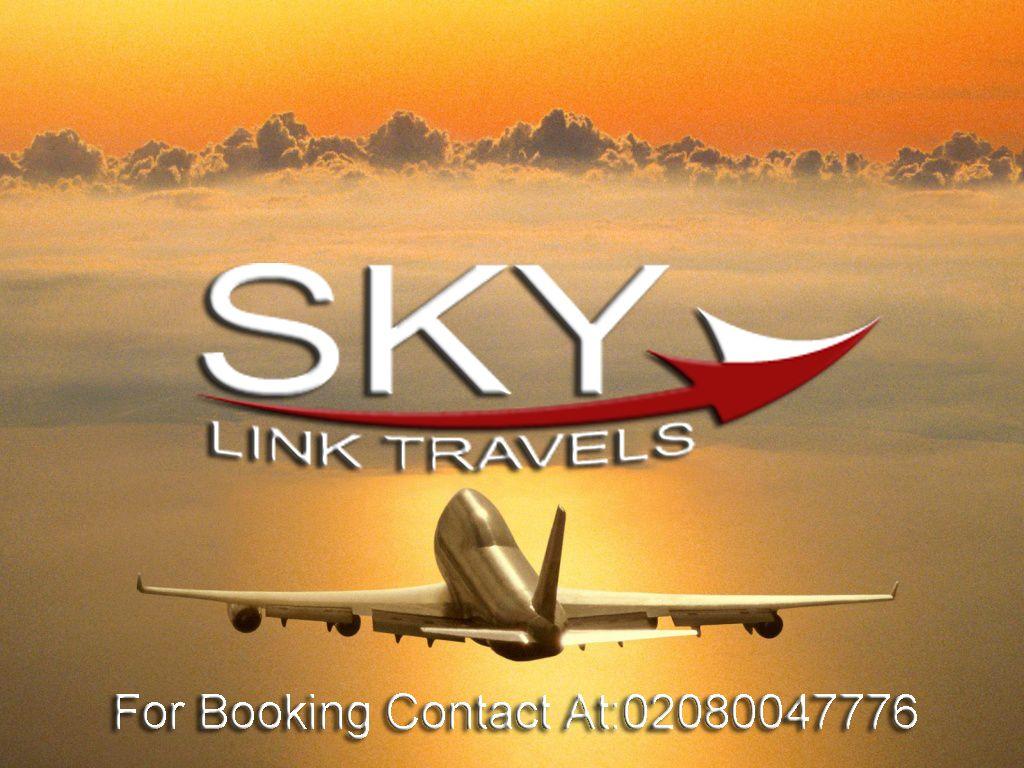 Zimbabwe flights Book Now with Sky link Travels Sky link