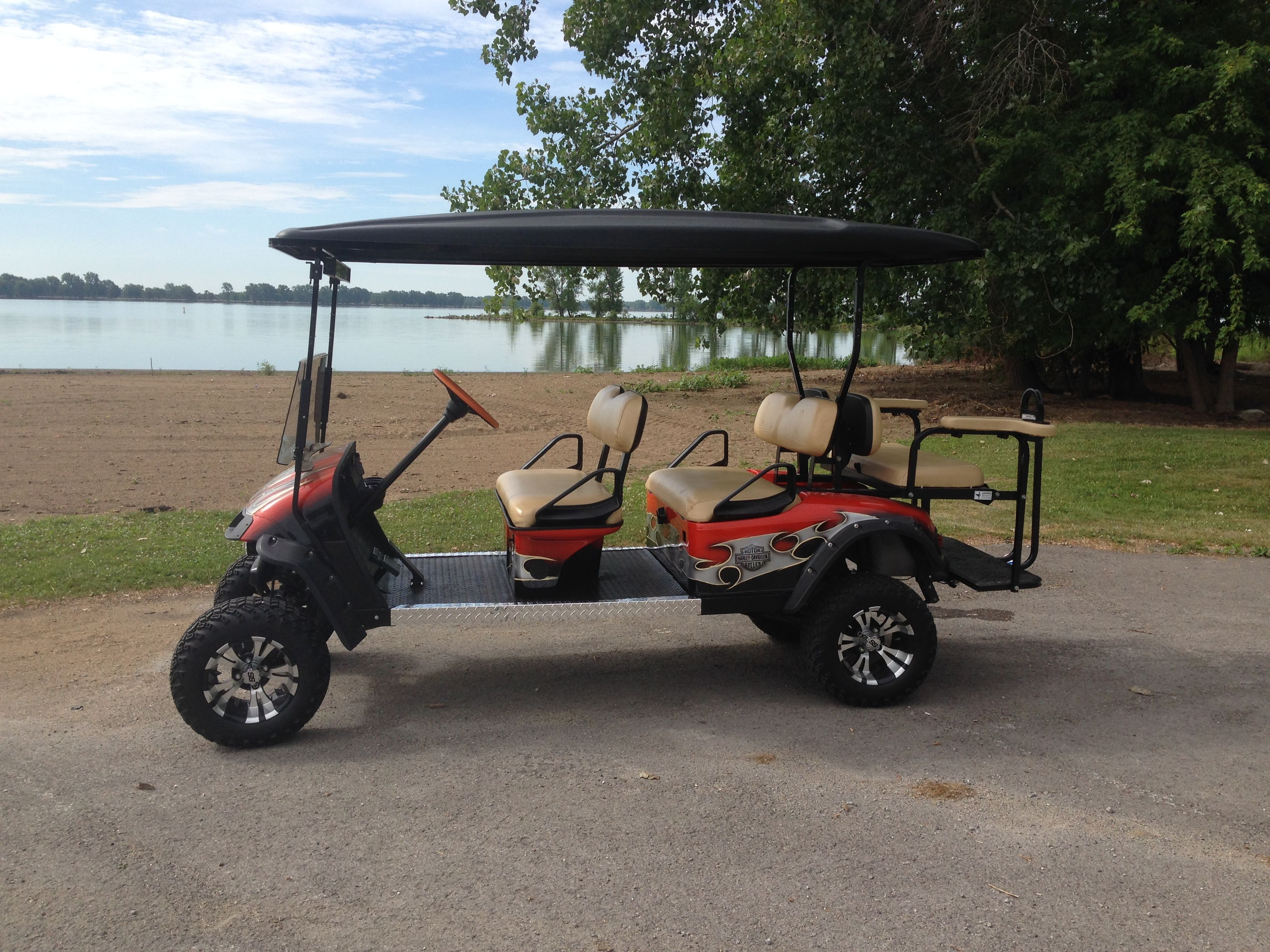2002 Ezgo Txt Stretched 30 And Made Into A 6 Passenger Golf Carts Golf Buggy