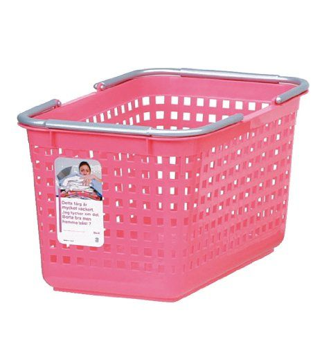 Pink Plastic Laundry Basket Likeit Scb4 Plastic Laundry Basket 1035Inch H1201Inch W