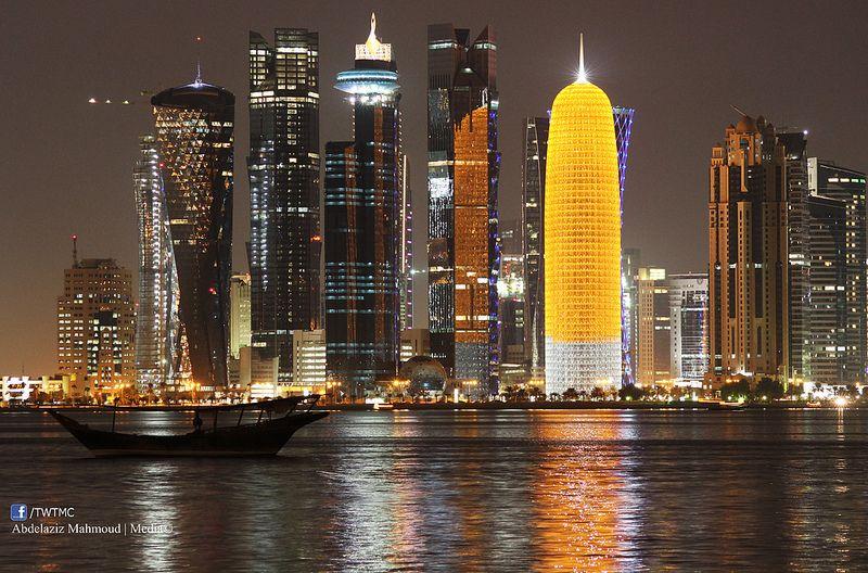 وزرتها بعد 13 سنة الدوحة المدينة التي ادهشتني New York Skyline Skyline New York