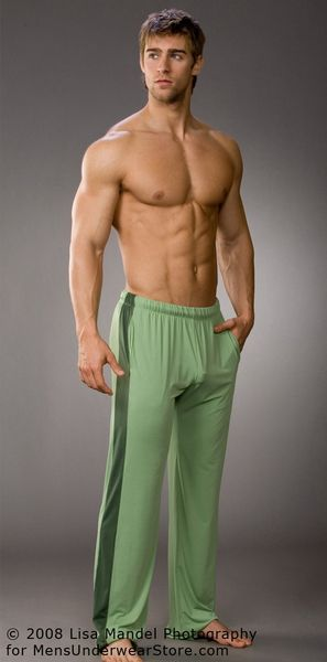 men how to make a bulge sweatpants