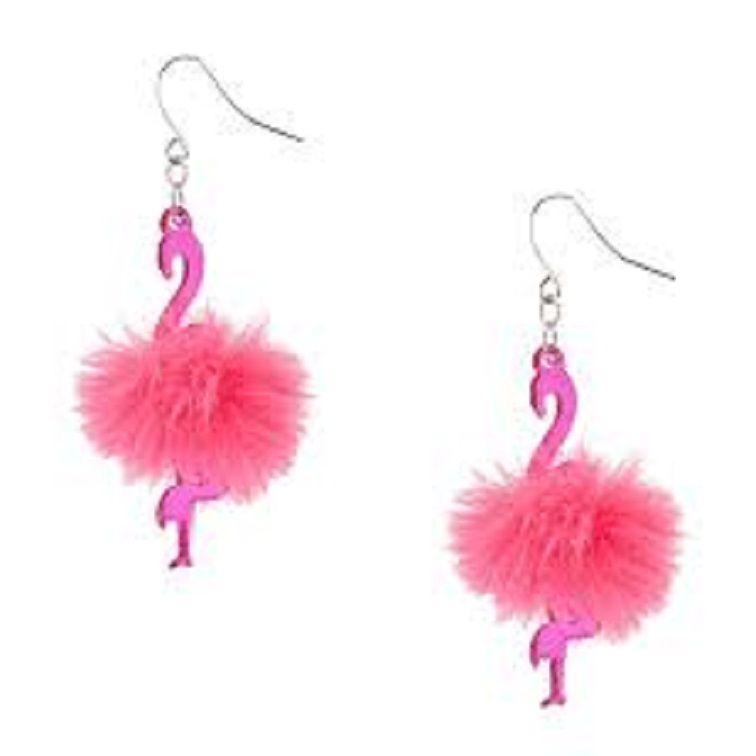 Flamingo Large Studs