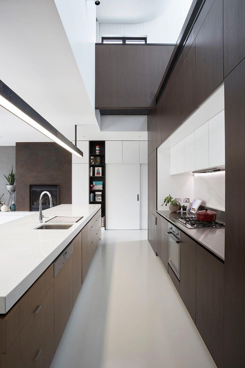 Un cocina en paralelo con mucho estilo | Kitchen ideas | Pinterest ...