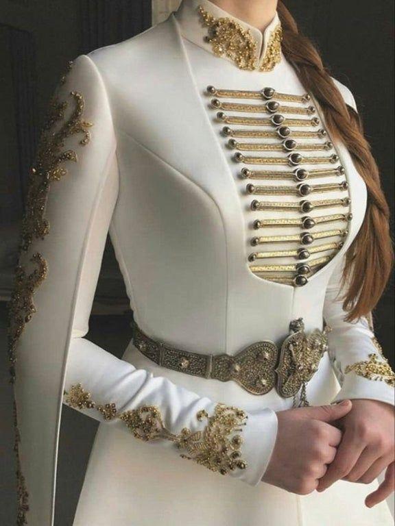 Wedding dress with goldwork embroidery : nextfuckinglevel#dress #embroidery #goldwork #nextfuckinglevel #wedding