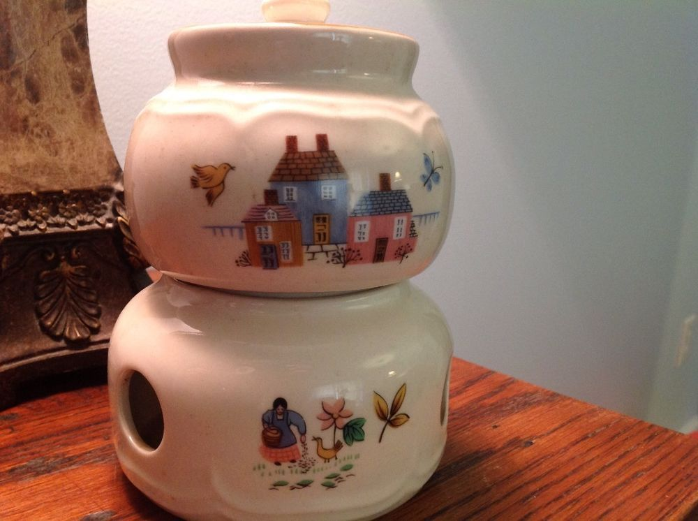 China from International China | eBay & International China Heartland Pattern Potpourri and Lid with Stand ...