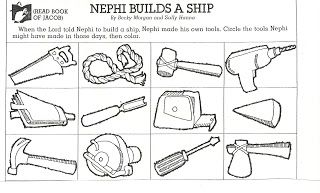 Singing Time: Tools to Build Nephit's Ship
