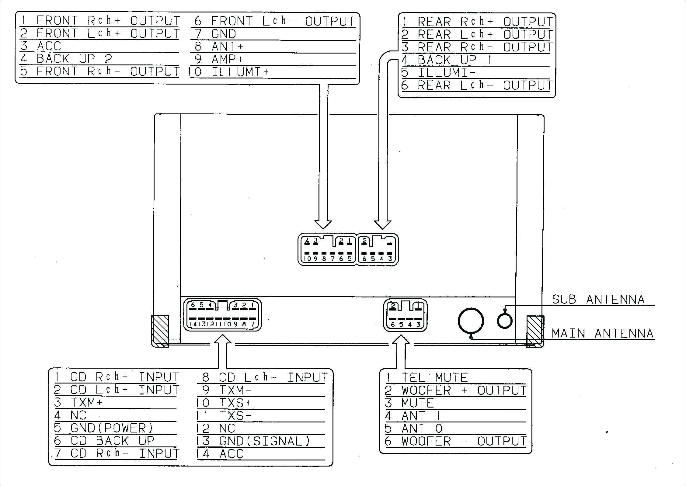 Unique Pioneer Avh 270bt Wiring Diagram Car Stereo Car Audio Sony Car Stereo