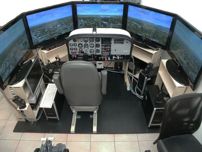 Flight Simulator: Ivan Sutherland developed flight simulators which allowed  for the trainee pilot to feel