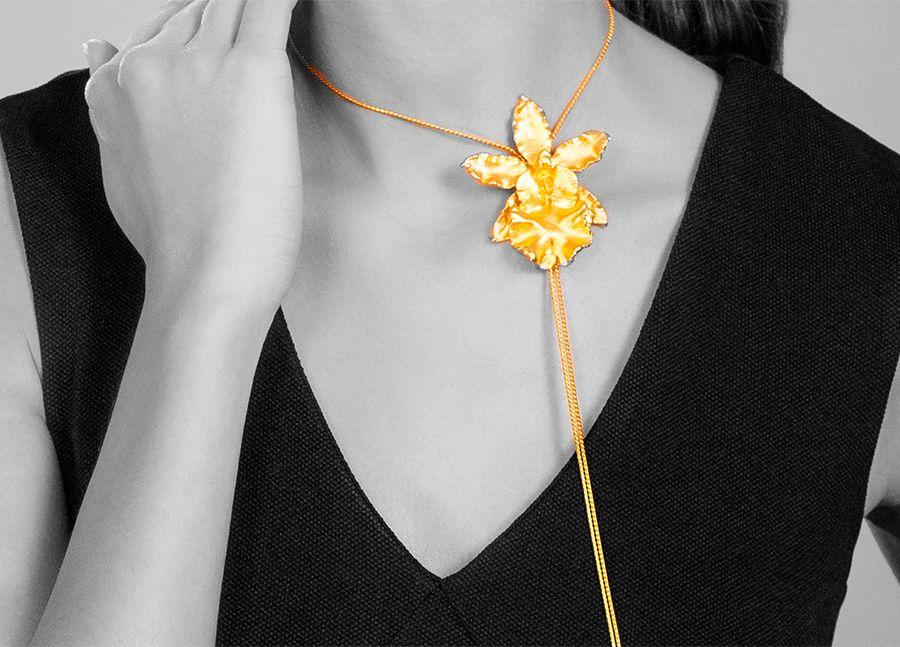 Ювелирные украшения Risis - орхидеи