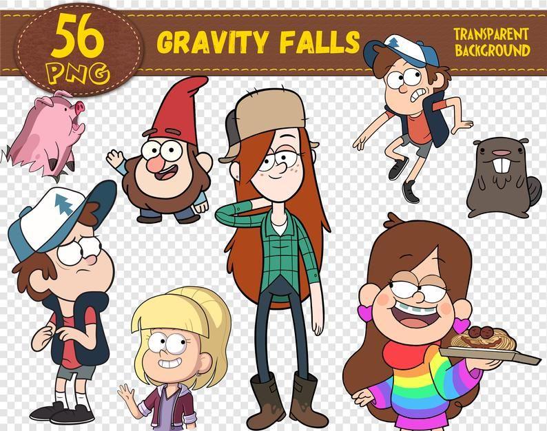 Gravity Falls Clipart Gravity Falls Characters Gravity Falls Etsy In 2020 Gravity Falls Characters Gravity Falls Gravity Falls Art