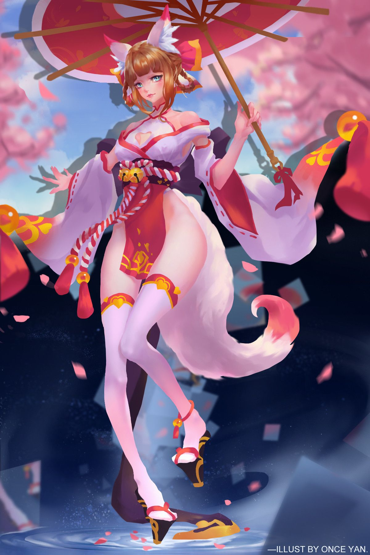 ArtStation 鏡中巫女, once yan Anime characters list