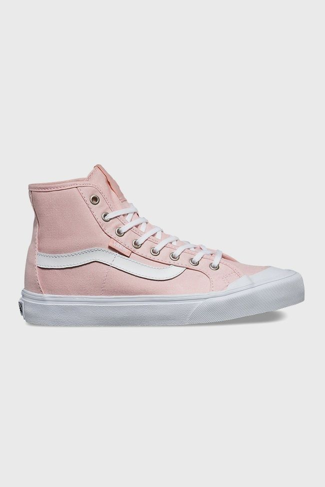 In a gorgeous shade of dusty pink, the Black Ball SF Vans