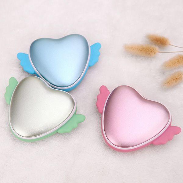 Valentines Gift For Her 3500mah Love Heart Shape Hand Warmer Usb