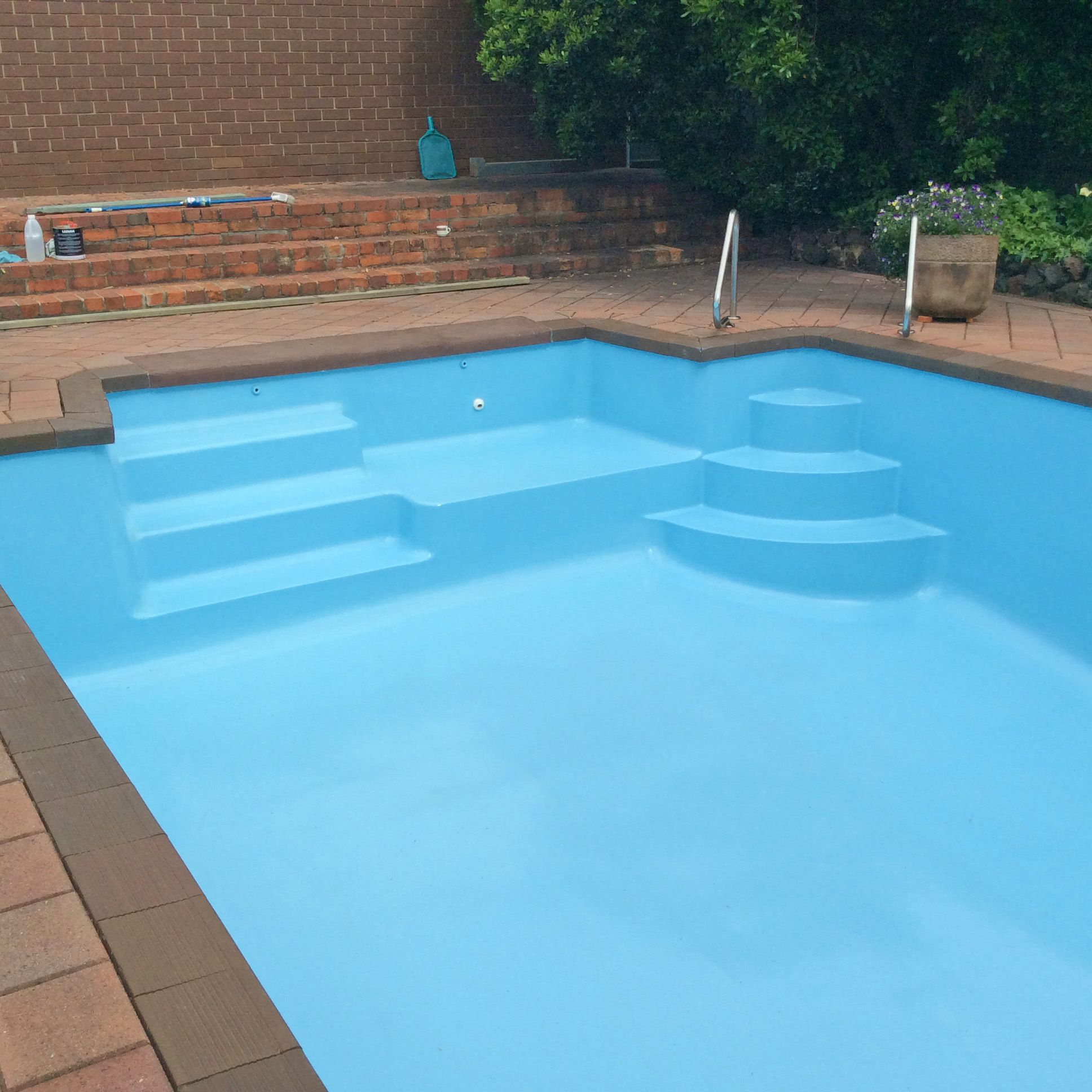 Pool Paint For Your Swimming Pool Pool Paint Swimming Pool House Cool Pools