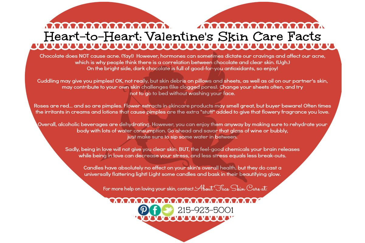 Valentine S Day Skin Care Myths Busted Skincare Aboutfaceskincare Face Products Skincare Skin Care Myths Skin Care