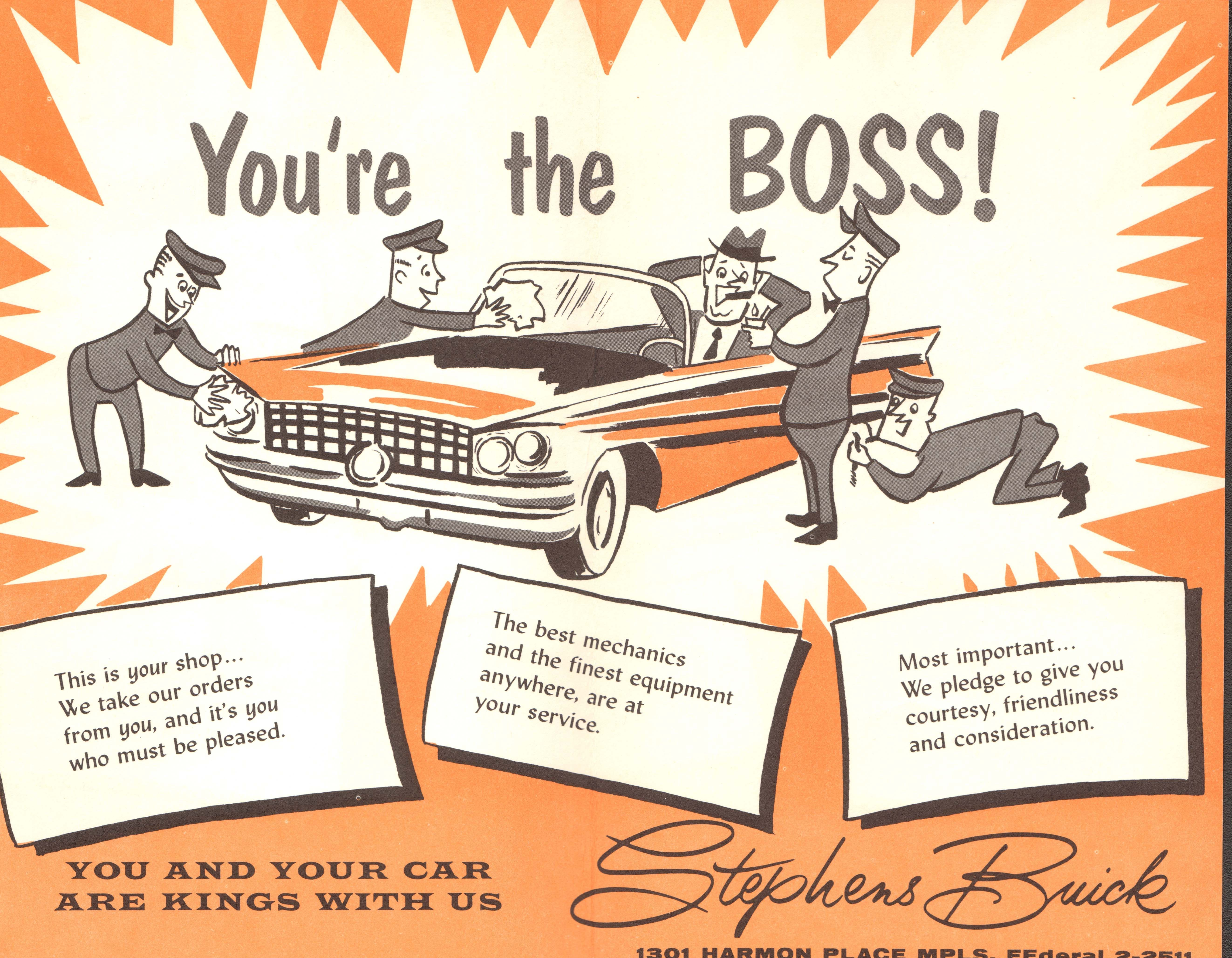 Win Stephens Buick was one of the biggest car dealers in town in the ...