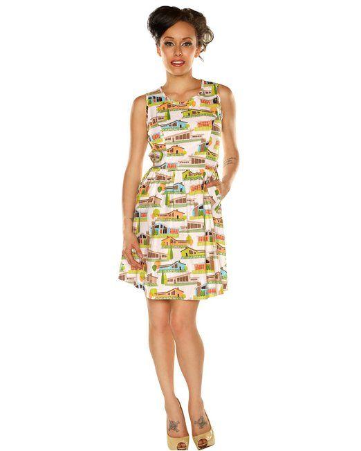 ae3a3aad97 Retrolicious Women s Mid Century Modern Dress Medium