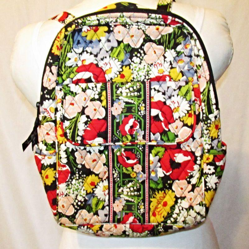 4a82d909b47c Vera Bradley Poppy Fields Backpack Bookbag Purse Retired  VeraBradley   Backpack
