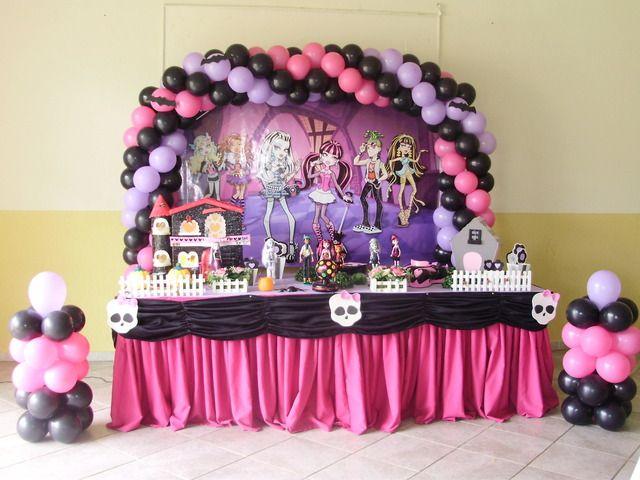 Festa Monster High Dicas E Inspiracoes Para Sua Festa Festa
