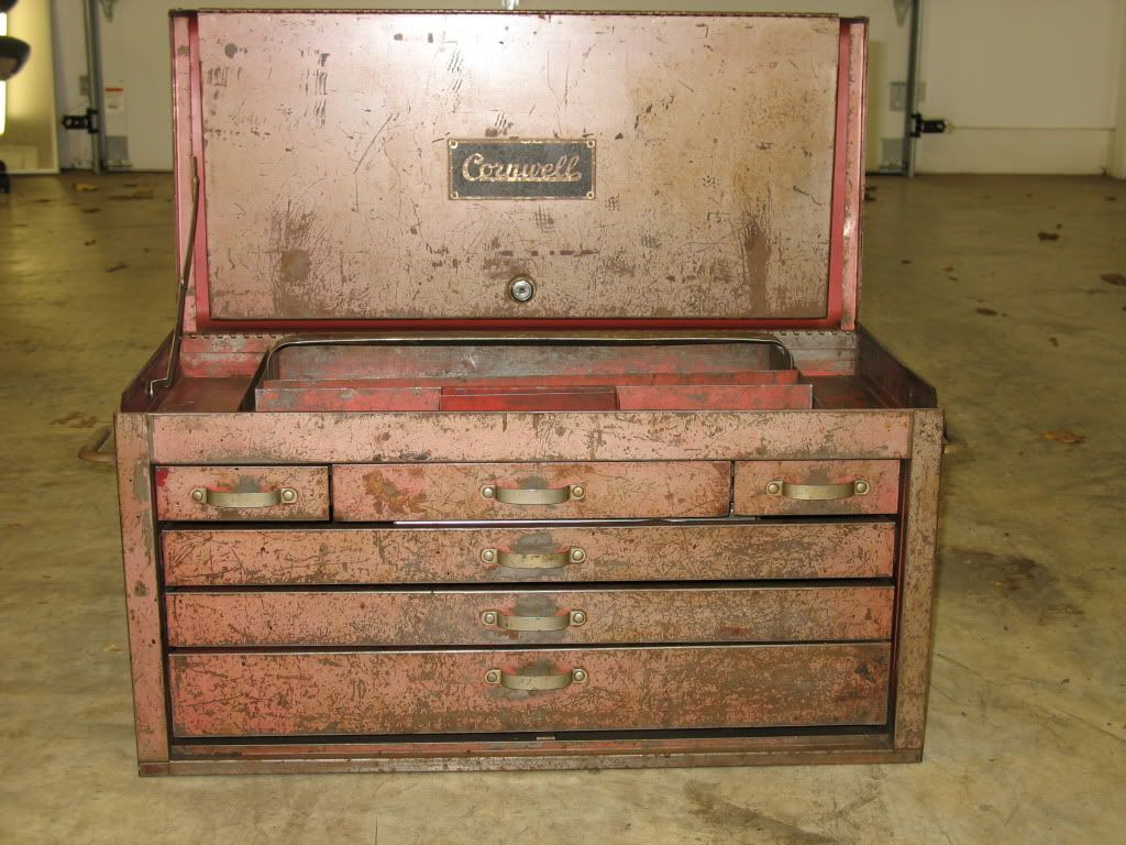 The Vintage Toolboxes Of Garage Journal The Garage Journal Board Tool Box Vintage Tools Machinist Tool Box