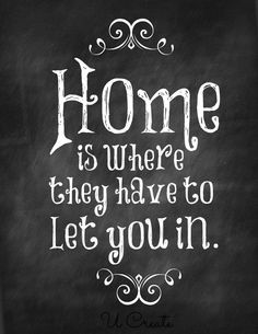 funny quotes about home