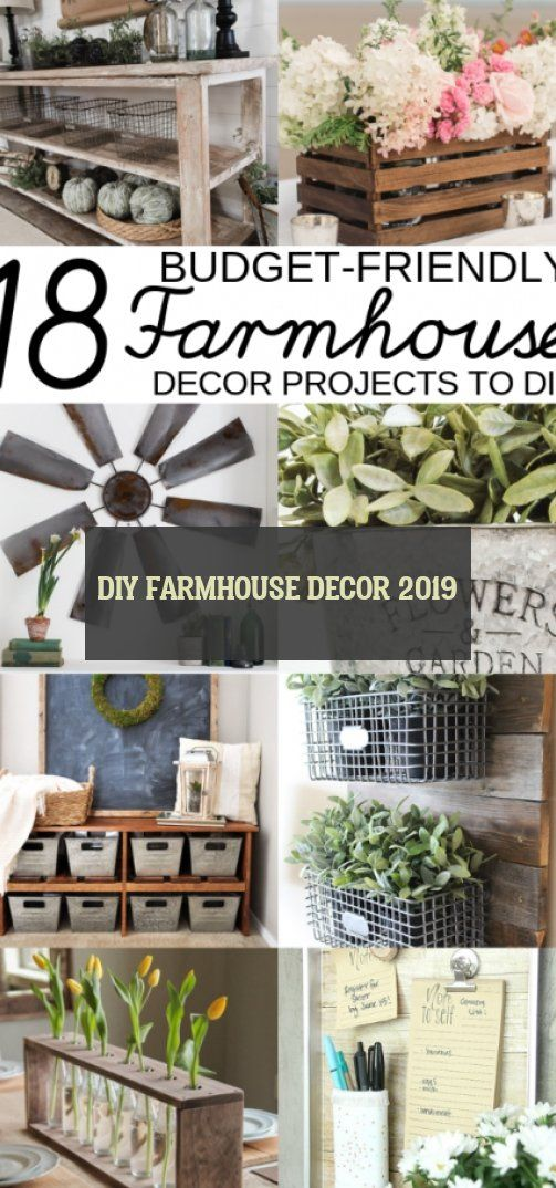 diy farmhouse decor 2019
