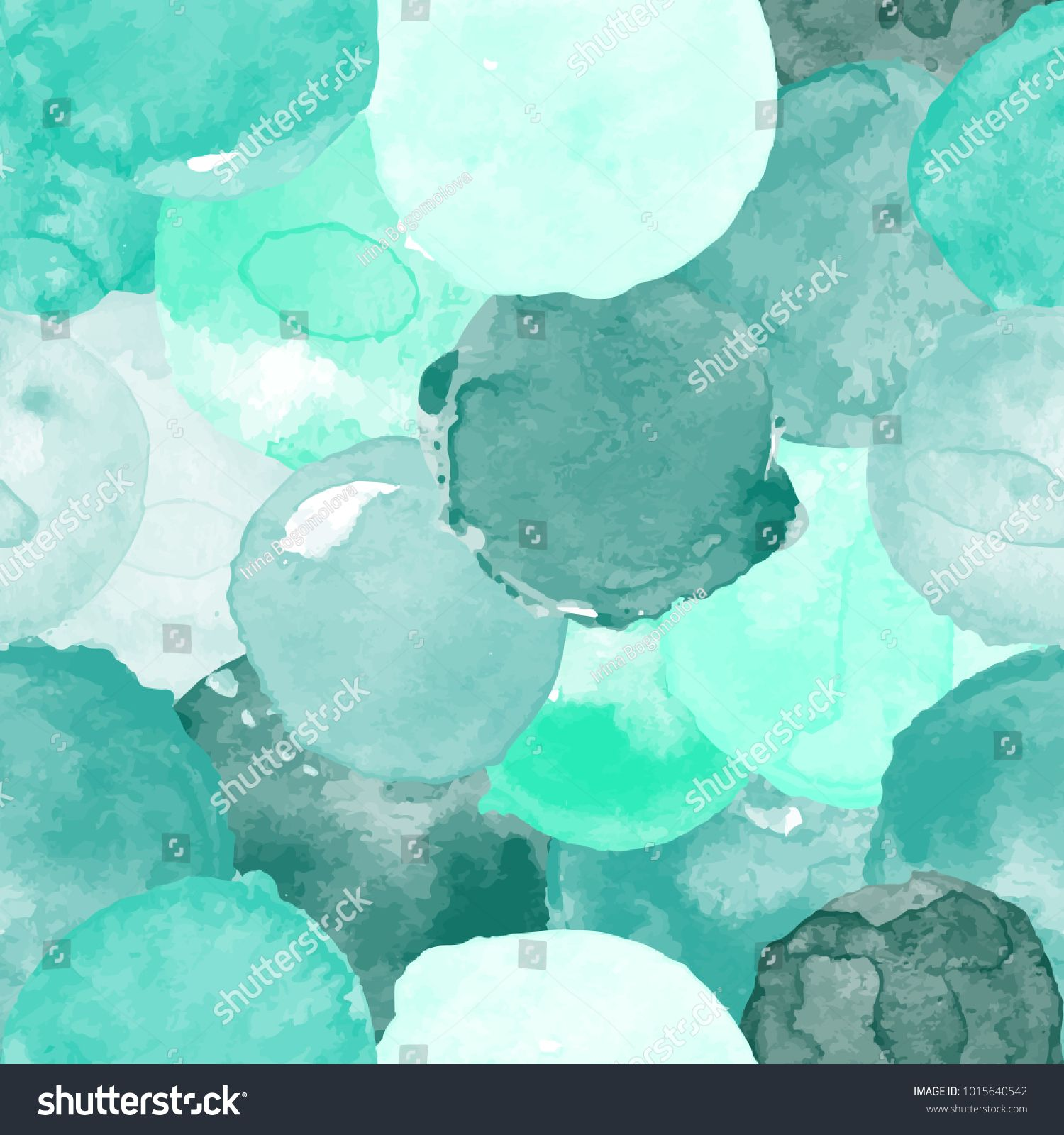 Watercolor Vector Seamless Pattern For Wallpaper Pattern Fills