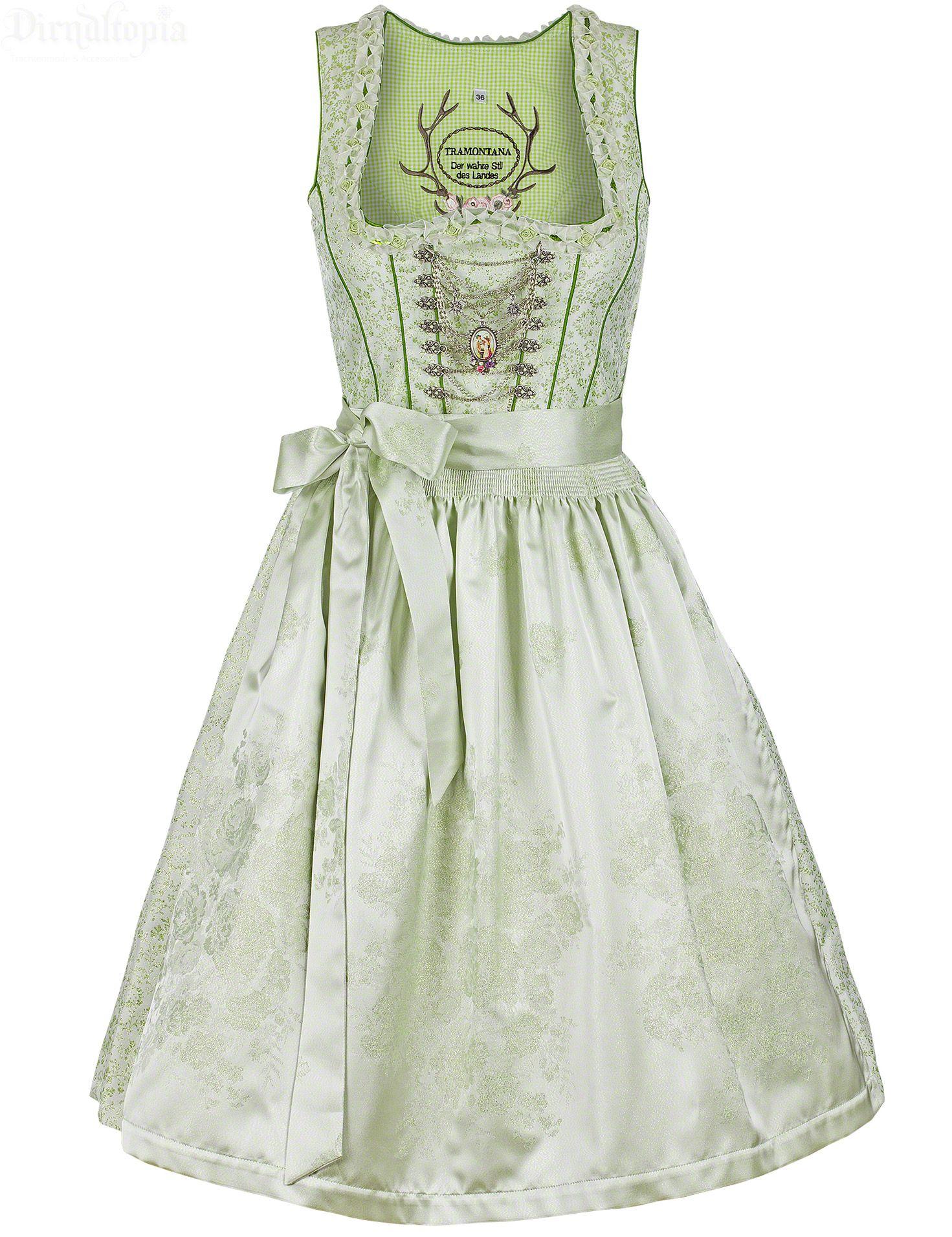 56496f70ac25a1 Designer Dirndl von Tramontana auch als Hochzeitsdirndl ein absoluter  Euycatcher kostbarer Jacquardstoff mit feinem Blumenranken-Muster tiefer ...