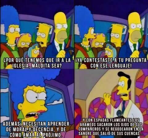 Como Amar Al Projimo Frases De Los Simpsons Don Meme Gracioso