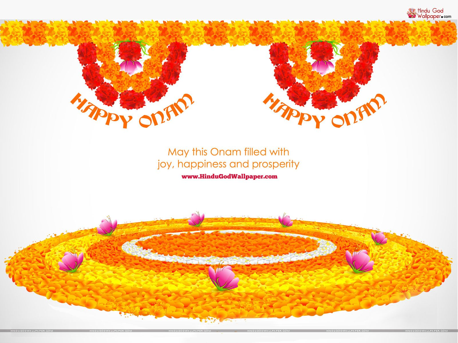 Onam Pookalam Wallpapers & Pictures HD Free Download