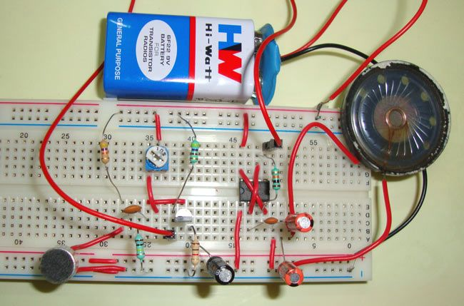 Low Battery Indicator Circuit Diagram Electronic Project